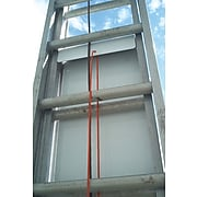 """Accuform Signs® Ladder Shield™ 42"""" x 13.25"""" Aluminum Lockout Kit """"DANGER DO.."""", Red/Black On White"""