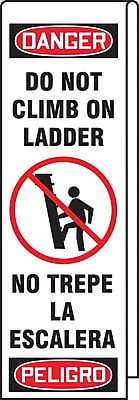 Accuform Signs® Ladder Shield™ 87