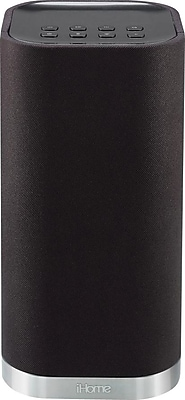 iHome iW3 Airplay Wireless Stereo Speaker System, Black