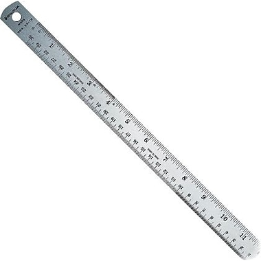 Staedtler Metal Ruler, with Corked Back