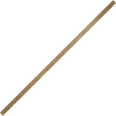 Acme United Wooden Metre Stick, with Metal Ends