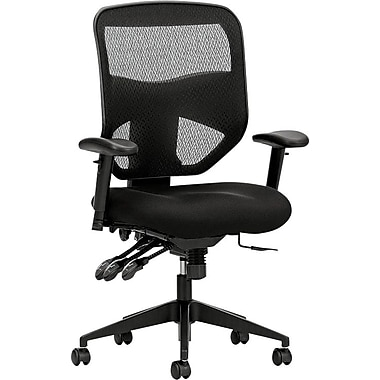 basyx by HON Mesh Conference Office Chair, Adjustable Arms, Black (VL532MM10.COM) NEXT2017