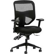 HON Prominent Mesh High-Back Task Chair, Asynchronous Control, Seat Glide, 2-Way Arms, Black Mesh NEXT2018 NEXT2Day