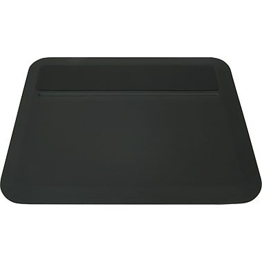 DuraPad Modern Desk Pad, Medium, Black, 19