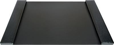 DuraPad Executive Desk Pad, Medium, Black, 19