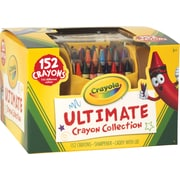 Ultimate Crayon Case, Sharpener Caddy, 152 Colors