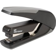 Staples One-Touch™ Plus Desktop Flat Stack Full Strip Stapler, 30-Sheet Capacity, Black