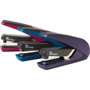 Staples® One-Touch™ Plus Desktop Flat Stack Full Strip Stapler, 30 Sheet Capacity, Assorted Colours
