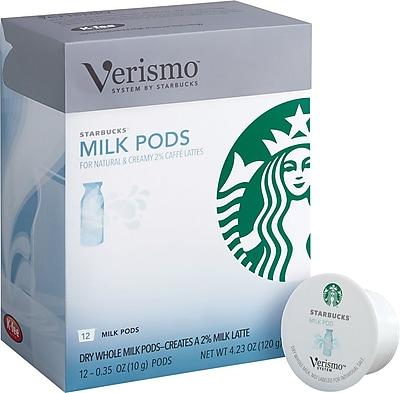 Starbucks® Verismo™ Milk Pods, 12/Pack