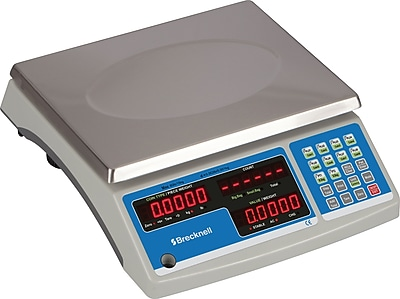 Salter Brecknell® Electronic Office Scales, 60-lb Capacity Counting Scale (B140-60)