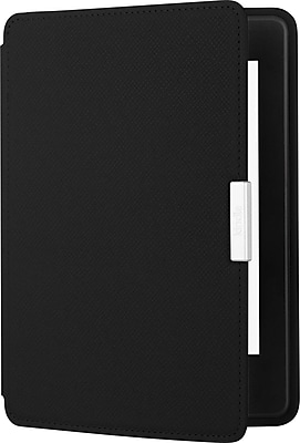 Amazon Leather Cover for Kindle Paperwhite, Onyx Black