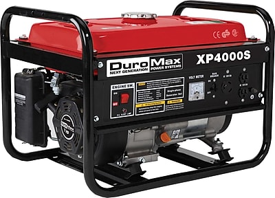 DuroMax® XP4000S-CA 4000W 7 Hp Air-Cooled OHV Gasoline Powered Portable RV Generator, CARB Compliant