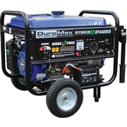 DuroMax® XP4400EH Dual Fuel 4400W Hybrid Propane/Gasoline Portable Generator with Wheel Kit & Electric Start