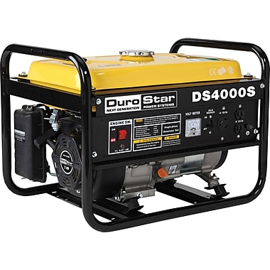 DuroStar® DS4000S 4000W, 7 Hp Air-Cooled OHV Gasoline Powered Portable RV Generator