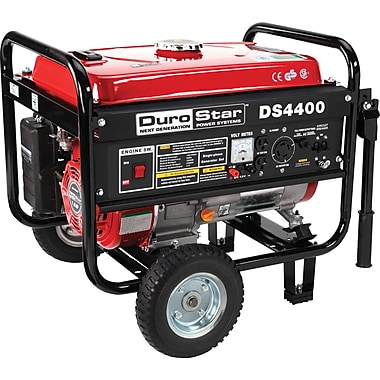 DuroStar® DS4400-CA 4400W, 7 Hp Air-Cooled OHV Gasoline Powered Portable Generator Wheel Kit, CARB Compliant