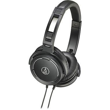 Audio-Technica Solid Bass Over-Ear Headphones, Black