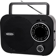 Jensen MR-550-BK Portable AM/FM Radio, Black