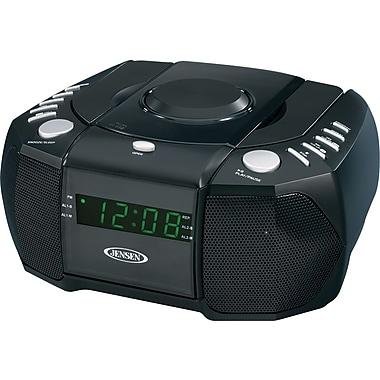 Jensen JCR-310 AM/FM Stereo Dual Alarm Clock Radio with CD Player