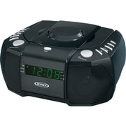 Jensen JCR-310 AM/FM Stereo Dual Alarm Clock Radio with CD Player