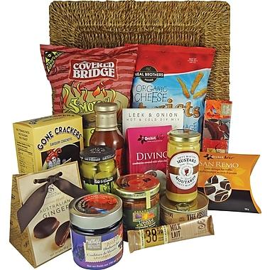 Dolce & Gourmando – Panier-cadeau Canadiana