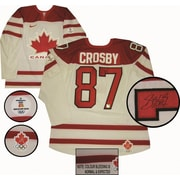 Sidney Crosby Hand Signed White Pro Team Canada Jersey