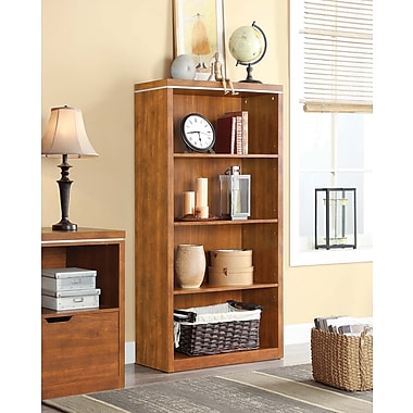 Whalen Legeant 4-Shelf Bookcase, 32