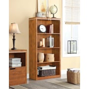 "Whalen Legeant 4-Shelf Bookcase, 32"" x 13.75"" x 60"", Cherry (SPCA-LBKC)"