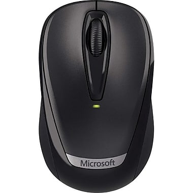 Microsoft Wireless Mobile Mouse 3000, USB Wireless Mouse, Black (2EF-00002)