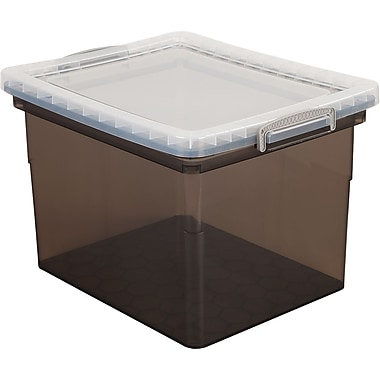 Really Useful Boxes® 31L Storage Box, Smoke