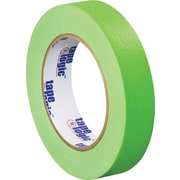 "Tape Logic™ 1"" x 60 yds. Masking Tape, Light Green, 12/Case"