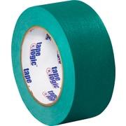 """Tape Logic™ 2"""" x 60 yds. Masking Tape, Dark Green, 12/Case"""