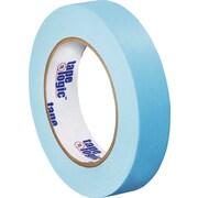 "Tape Logic® Masking Tape, 1"" x 60 yds., Light Blue, 12/Case"