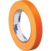 "Tape Logic™ 3/4"" x 60 yds. Masking Tape, Orange, 12/Case"