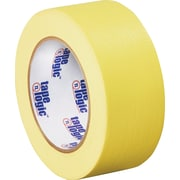 "Tape Logic™ 2"" x 60 yds. Masking Tape, Yellow, 12/Case"