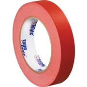 "Tape Logic™ 1"" x 60 yds. Masking Tape, Red, 12/Case"