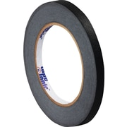 "Tape Logic™ 1/4"" x 60 yds. Masking Tape, Black, 12/Case"