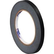 """Tape Logic™ 1/4"""" x 60 yds. Masking Tape, Black, 12 Rolls (T93100312PKB)"""