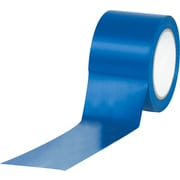 "Tape Logic™ 3"" x 36 yds. Solid Vinyl Safety Tape, Blue, 3/Pack"