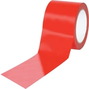 "Tape Logic™ 3"" x 36 yds. Solid Vinyl Safety Tape, Red, 3/Pack"