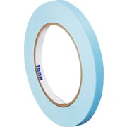 "Tape Logic® Masking Tape, 1/4"" x 60 yds., Light Blue, 144/Case"