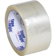 "Tape Logic® #700 Hot Melt Tape, 2"" x 55 yds., Clear, 6/Case"