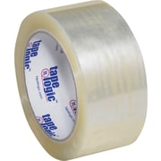 "Tape Logic® #1000 Hot Melt Tape, 2"" x 55 yds., Clear, 6/Case"