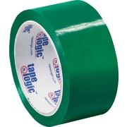 "2"" x 55 yds. Green Tape Logic™ Carton Sealing Tape, 36/Case"