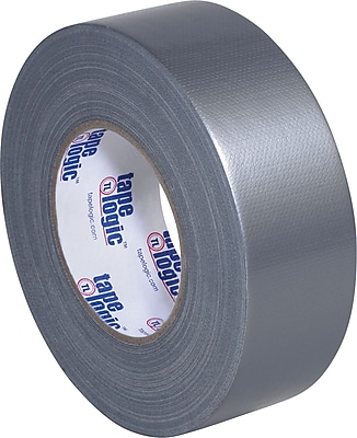 Tape Logic Industrial Cloth Duct Tape, Silver, 2