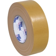 "Tape Logic Economy Cloth Duct Tape, Tan, 2"" x 60 Yards, 3/Pack"