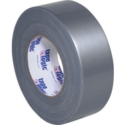 "Tape Logic Industrial Cloth Duct Tape, Silver, 2"" x 60 Yards, 24/Case"