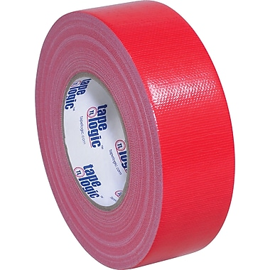 Tape Logic Economy Cloth Duct Tape, Red, 2
