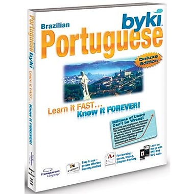 Byki Deluxe V4 Portuguese (Brazilian) for Windows (1 User) [Download]