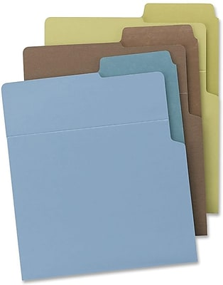 Smead Organized Up Heavyweight Vertical File Folders 75405, Letter, , 8.50