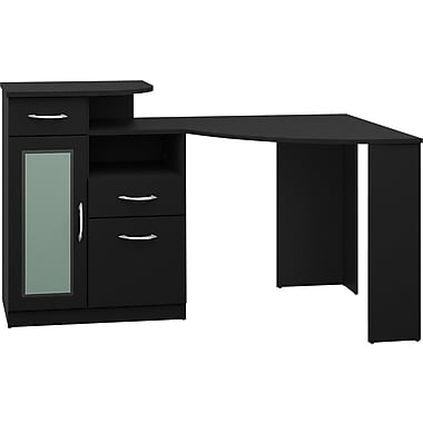 Bush® Vantage Corner Desk, Black
